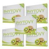 ราคา Phytovy ดีท๊อก ไฟโตวี่ เซ็ท 5กล่อง Phytovy ไทย
