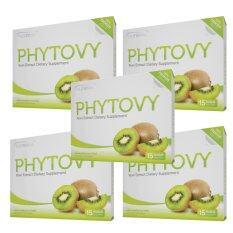 ขาย Phytovy ดีท๊อก ไฟโตวี่ เซ็ท 5กล่อง Phytovy ผู้ค้าส่ง