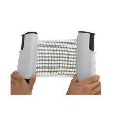 Ping Pong Net เสาเน็ตปิงปอง พกพา ยืดได้/หดเก็บได้   (Gray)