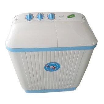 Plasma เครื่องซักผ้า 2 ถัง ขนาด 7.8 kg. รุ่น PWM7888 (สีขาว)