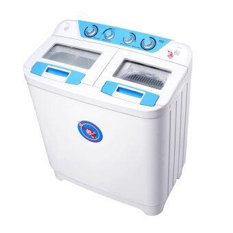 Plasma เครื่องซักผ้า 2 ถัง ขนาด 9 kg. รุ่น PWM951 (สีขาว)