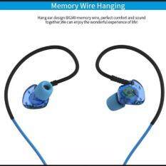 ราคา Plextone Bx240 หูฟังบลูทูธกันน้ำทรงSportเสียงดี Bluetooth Earphone Sports Wireless Hifi Super Heavy Bass Waterproof Blue