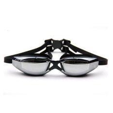 ราคา Plusslim แว่นตาว่ายน้ำ Swimming Glasses Yuke สีดำ ที่สุด