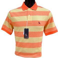 ขาย Poloace เสื้อโปโล Poloshirt Ppm40701129 Orange ออนไลน์ กรุงเทพมหานคร