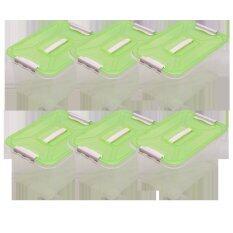 ราคา Dmt กล่องอเนกประสงค์ 18ลิตร สีเขียว จำนวน 6ใบ ใหม่ล่าสุด