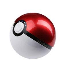 Power Bank Magic Ball Pokemon Go แบตสำรอง โปเกมอน สีขาวแดง งานสวยสุดในตลาดตอนนี้ สีขาว แดง เป็นต้นฉบับ