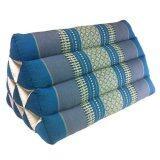 ส่วนลด Praemai หมอนอิงสามเหลี่ยม 10 ช่องใหญ่ สีฟ้า