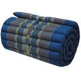 ราคา Praemai ที่นอนระนาด ที่นอน เบาะรองนอน เบาะรองนั่ง สีฟ้า ขนาด 180X55 Cm