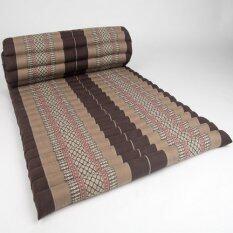 ซื้อ Praemai ที่นอนระนาดแบบม้วนเก็บได้ ขนาดกว้าง 110 X ยาว 200 สีน้ำตาล กรุงเทพมหานคร