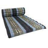 ขาย Praemai ที่นอนระนาดแบบม้วนเก็บได้ ขนาดกว้าง 80 X ยาว180 M155 สีฟ้าแถบดำ Unbranded Generic ออนไลน์