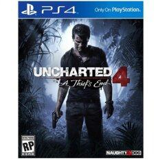 PS4 แผ่นเกมส์ Uncharted 4