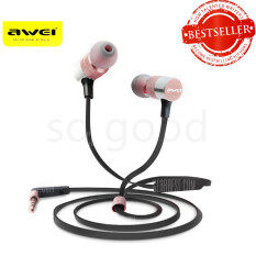 โปรโมชั่น Awei Es 20Ty Powerful Sound Experience Hi Fi Earphones Pink ใน ไทย