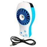 ทบทวน Mini Fan พัดลมไอน้ำ พกพา สายหมอก ชาร์จไฟได้ รุ่น Lzh 008 สีฟ้า Unbranded Generic
