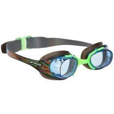 Nabaiji แว่นตาว่ายน้ำสำหรับเด็ก XBASE TROPI - (สีดำ) มาตราฐานยุโรป