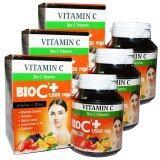 ซื้อ Bio Vitamin C Alpha Zinc 1 500 Mg วิตามิน ซี อัลฟ่า ซิงค์ ขนาด 30 เม็ด 3 กล่อง Vitamin ถูก