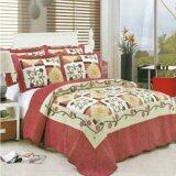 ราคา ราคาถูกที่สุด Prom Jitra ผ้าคลุมเตียงสไตล์วินเทจ สำหรับที่นอนขนาด 5 หรือ 6 ฟุต รุ่น Dh 6080