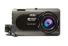 Proof Car Cam HD DVR กล้องติดรถยนต์หน้า - หลัง รุ่น Proof-PF720 (Black)