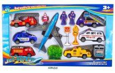 ส่วนลด Proudnada Toys ของเล่นเด็กเซ็ตลานบินและรถ Jet Stream In Many Styles No Mtj 00126