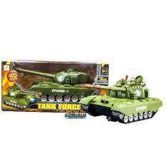 ซื้อ Proudnada Toys ของเล่นเด็กรถถังใส่ถ่านชนถอย Tank Force No Zf0088 ออนไลน์