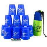 ซื้อ Proudnada Toys Stack Cup เกมส์เรียงแก้ว สีน้ำเงิน Magic Flying Stacked Cup 12 Pcs Rapid Cup No P13 Blue Proudnada Toys ออนไลน์