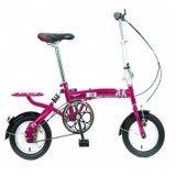 ทบทวน Psb Net จักรยานพับ12 Tiger London Pink