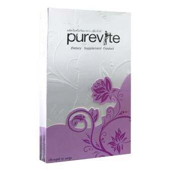 Pure Vite เพียวไวท์ อาหารเสริมลดน้ำหนัก 30 แคปซูล-