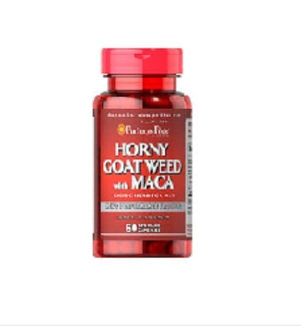 Puritans Pride Horny Goat Weed with Maca 500 mg