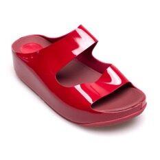 ขาย Quick Step รองเท้าผู้หญิง รองเท้าแฟชั่น 6651 505 Red ถูก