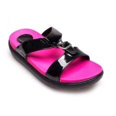 ซื้อ Quick Step รองเท้าผู้หญิง รองเท้าแฟชั่น Jj160 Black ถูก ใน Thailand