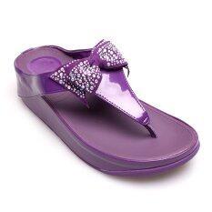 โปรโมชั่น Quick Step รองเท้าผู้หญิง รองเท้าแฟชั่น W6651 502 Purple Quick Step ใหม่ล่าสุด