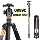 ราคา Qzsd Q999C Professional Carbon Fiber Tripod Monopod Ball Head For Dslr Camera Portable Camera Stand Better Than Q999 Qzsd ออนไลน์