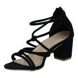 ขาย รองเท้าผู้หญิง แฟชั่น รุ่น H 1631 Blk ใน ไทย