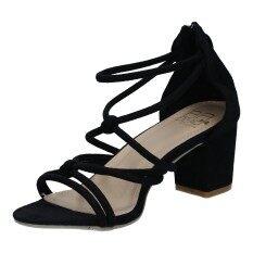 ขาย รองเท้าผู้หญิง แฟชั่น รุ่น H 1631 Blk Unbranded Generic