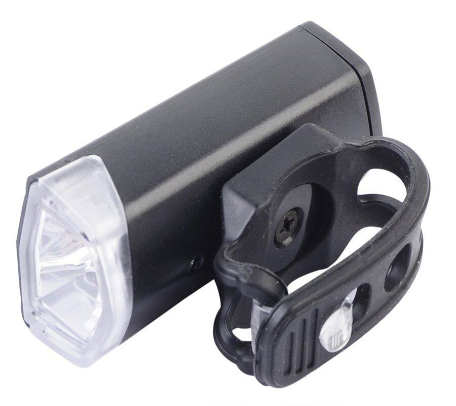 RAYPAL 3 Mode 300 Lumens LED Bicycle Light USB Rechangeable Warning Light  ( Black )