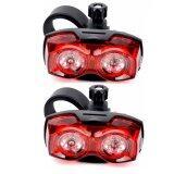 ทบทวน Raypal ไฟท้ายจักรยาน ไฟกระพริบ Raypal Two Eyes สีแดง แพ็คคู่ Raypal