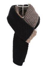 ขาย Ready4Girl ผ้าพันคอไหมพรมผืนยาว ใช้ได้ทั้งหญิงและชาย สีดำ ถูก กรุงเทพมหานคร