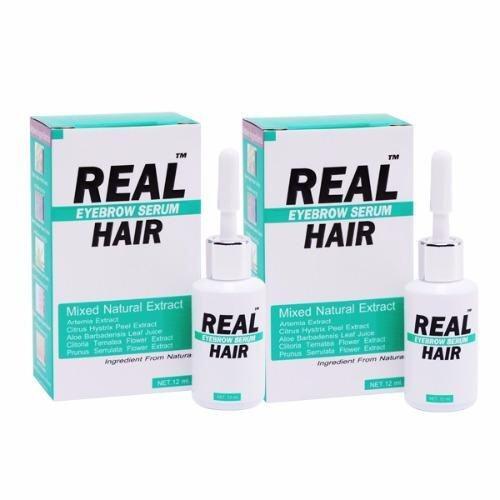 Real Hair Eyebrow Serum 12 ml (2 ชิ้น)