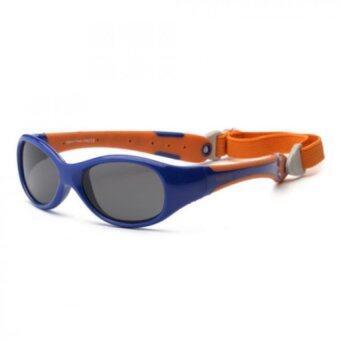Real Kids Shades แว่นตากันแดดเด็กรุ่น Explorer 2+ สีน้ำเงิน/ส้ม
