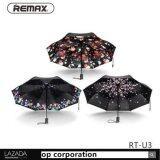 Reamx Rt U3 เพื่อเปิดฝนร่มอัตโนมัติหรือส่องแสงที่ใช้ได้สองทาง Autumn Spring Summer ใหม่ล่าสุด