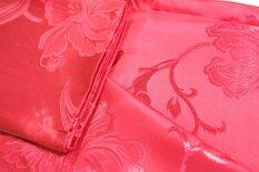 ราคา Red Silky Satin Blanket ผ้าแพรเพลาะ กันไรฝุ่น Cool Blanket For Summer สีแดงสด ใหม่ล่าสุด