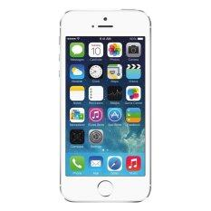 Refurbished Apple Iphone 5S 4G 16Gb Silver Free Front Screen Protector เป็นต้นฉบับ
