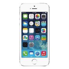 ขาย ซื้อ ออนไลน์ Refurbished Apple Iphone 5S 4G 16Gb Silver Free Front Screen Protector