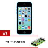 ขาย Refurbished Apple Iphone5C 16 Gb Blue Free Temper Glass Apple เป็นต้นฉบับ
