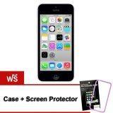 ราคา Refurbished Apple Iphone5C 16 Gb White Free Case Screen Protect ใหม่ ถูก