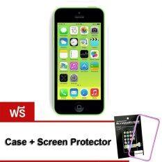 ขาย Refurbished Apple Iphone5C 32 Gb Green Free Case Screen Protect Apple ออนไลน์