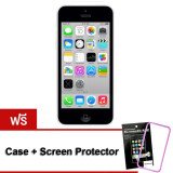 Refurbished Apple Iphone5C 32 Gb White Free Case Screen Protect เป็นต้นฉบับ