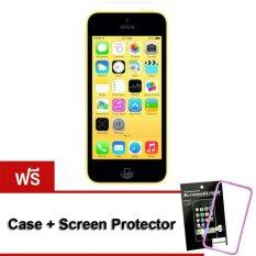 ราคา Refurbished Apple Iphone5C 32 Gb Yellow Free Case Screen Protect เป็นต้นฉบับ