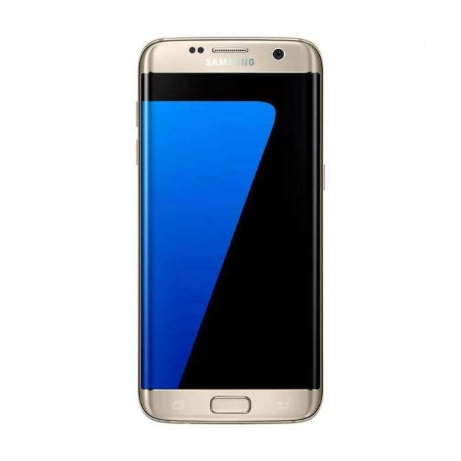 refurbished samsung galaxy s7 edge gold platinum. Black Bedroom Furniture Sets. Home Design Ideas