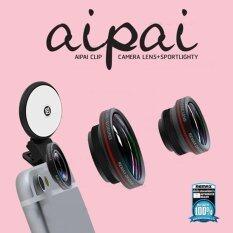 ขาย Remax Aipai Clip Lens Selfy Flash Light คลิปเลนส์ เซลฟี่ พร้อม แฟลช สีดำ Remax ถูก