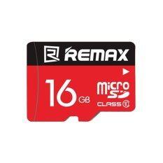 Remax เมมโมรี่การ์ด Micro SDHC Card 16 GB Class 10 รุ่น Speed Flash (สีแดง)